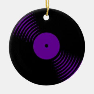 Prydnad för rekord för vinyl för Corey tiger80-tal Jul Dekorationer