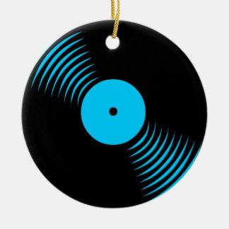 Prydnad för rekord för vinyl för Corey tiger80-tal Juldekoration