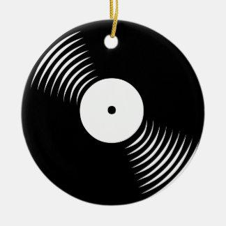 Prydnad för rekord för vinyl för Corey tiger80-tal Julgransdekorationer