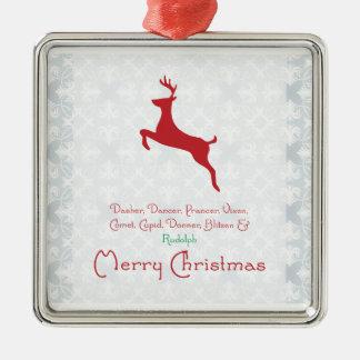 Prydnad för ren {jul} julgransdekoration