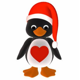 Prydnad för Santa pingvinhelgdag