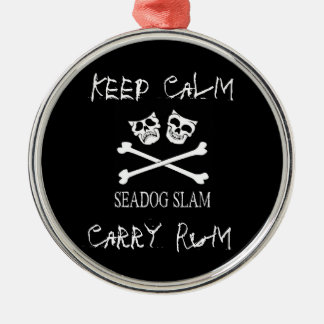 Prydnad för Seadog Slamjul Julgransprydnad Metall