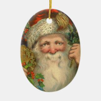 Prydnad för St Nicholas vintagejul Julgransdekoration