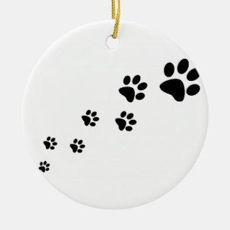 Prydnad för tasstryckträd julgransprydnad keramik