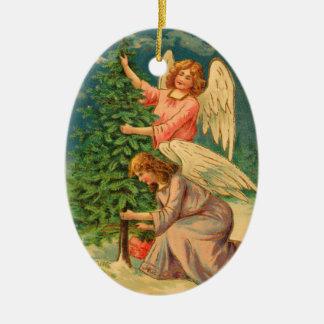 Prydnad för Victorianängeljul Julgranskula