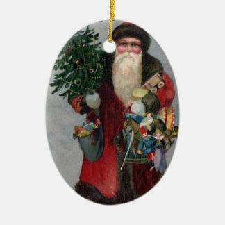 Prydnad för VictorianEraSanta jul Julgranskula