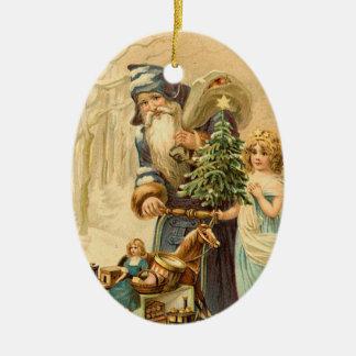 Prydnad för VictorianSanta jul Julgranskulor