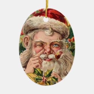 Prydnad för vintageSanta jul Julgranskula