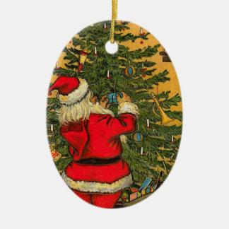 Prydnad för vintageSanta jul Julgransdekorationer