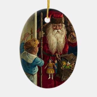 Prydnadar för vintageSanta jul Julgransdekoration