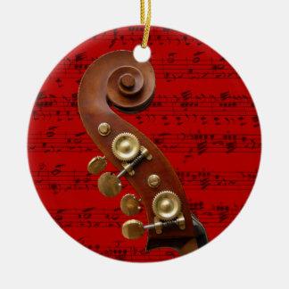 Prydnaden - rulla med musik - välj din färg julgransprydnad keramik