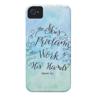 Psalm19:1 iPhone 4 Case-Mate Skal