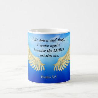Psalm3:5 Kaffemugg