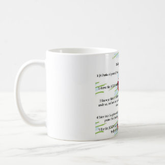 Psalm 100: Gör ett glatt att stoja Kaffemugg