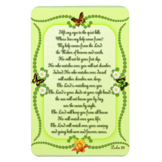 Psalm 121 magnet