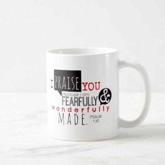 Psalm 139 - Jag lovordar dig Kaffemugg