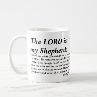 Psalm 23 - KJV-, mugg