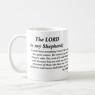 Psalm 23 - modern versionmugg kaffemugg