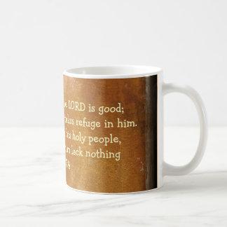 psalm 34 kaffemugg