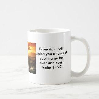 Psalmsberöm Kaffemugg