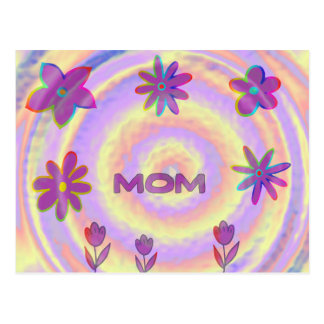 Psyched ut mamma vykort