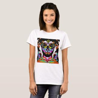 Psychedelic ansikte tshirts