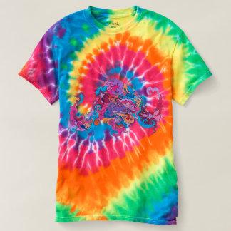 Psychedelic bläckfisk t-shirt