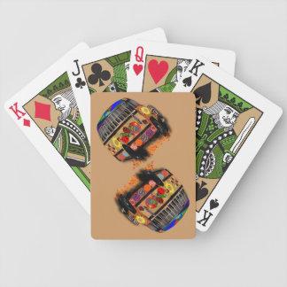 Psychedelic buss spelkort