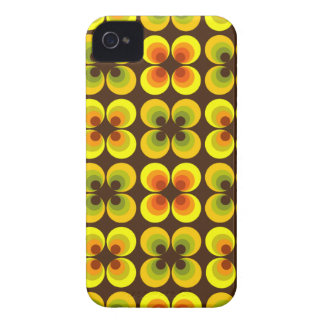 Psychedelic cirklar iPhone 4 Case-Mate fodraler