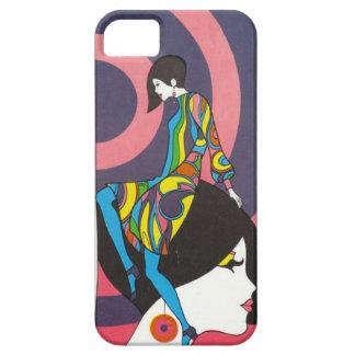 Psychedelic färgrik iphone case för iPhone 5 cases