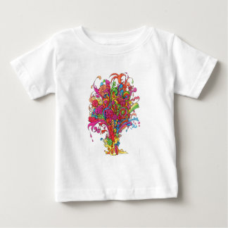 Psychedelic fontän t shirt