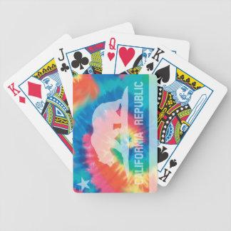 Psychedelic för Kalifornien för Soul Tie färgad fl Spelkort