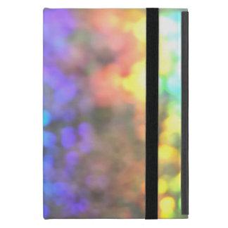 Psychedelic glitter iPad mini fodral