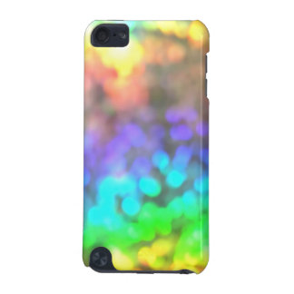 Psychedelic glitter iPod touch 5G fodral