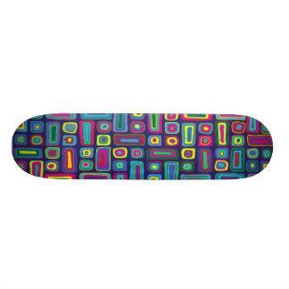 Psychedelic mosaisk Skateboard