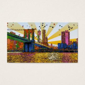 Psychedelic New York City: Brooklyn överbryggar, Visitkort