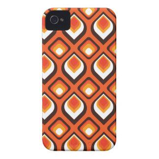 Psychedelic orange iPhone 4 Case-Mate fodraler