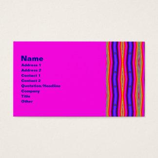 psychedelic randar visitkort