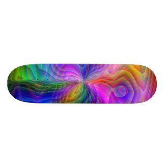 Psychedelic reklamblad skateboard bräda 21,5 cm