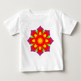 Psychedelic Snowflake Tee Shirts