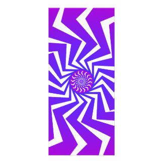 Psychedelic spiralt mönster: Vektorkonst: Reklamkort