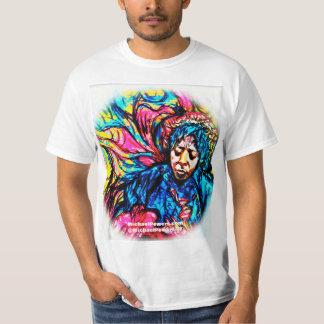 Psychedelic T-tröja för ÖVERHETdeppighetdimma T Shirts