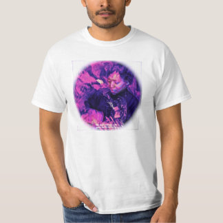 Psychedelic utslagsplats av C. Grampp (vit) Tee Shirts