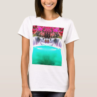 Psychedelic vattenfall tee shirts