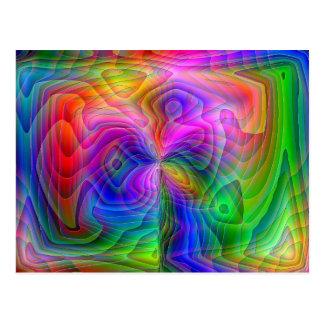 Psychedelic vision vykort