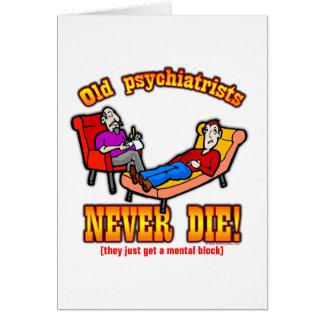 Psykiater Hälsningskort