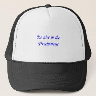 Psykiaterhatt Truckerkeps