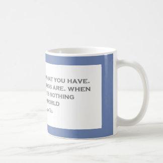 Psykologiska Qoutes Kaffemugg