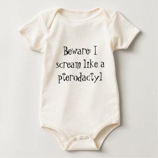 Pterodactylscreameronsie Body För Baby