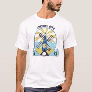 Puben pallr den öppna 2013 officiella tee shirt